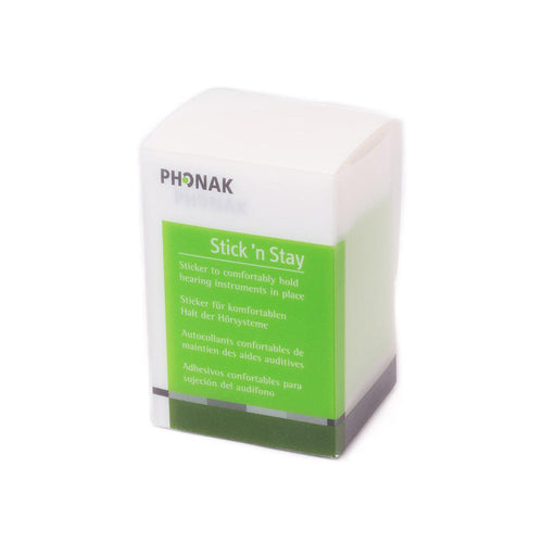 Phonak - Stick'n stay hearing aid retention solution HEARING AID ODYO Shop