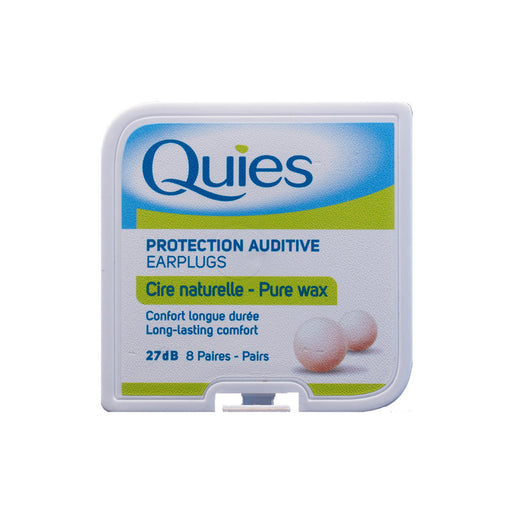 Quies Boules - Natural wax ear plugs NRR 27dB - ODYO Shop