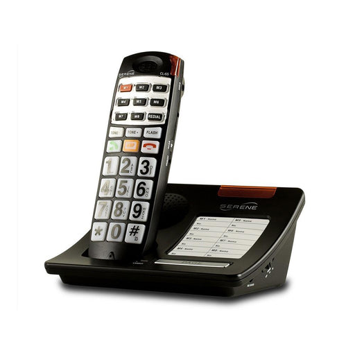 Serene CL65 - Cordless amplified telephone with big buttons +55dB ASSISTIVE LISTENING DEVICES ODYO Shop