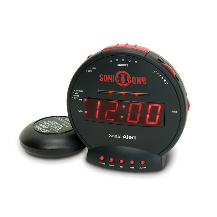 Sonic Alert SBB500SS Bomb - Extra loud alarm clock ASSISTIVE LISTENING DEVICES ODYO Shop