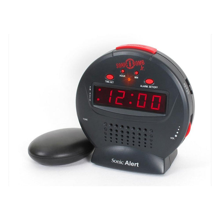 Sonic Alert SBJ525SS Bomb JR - Extra loud alarm clock ASSISTIVE LISTENING DEVICES ODYO Shop