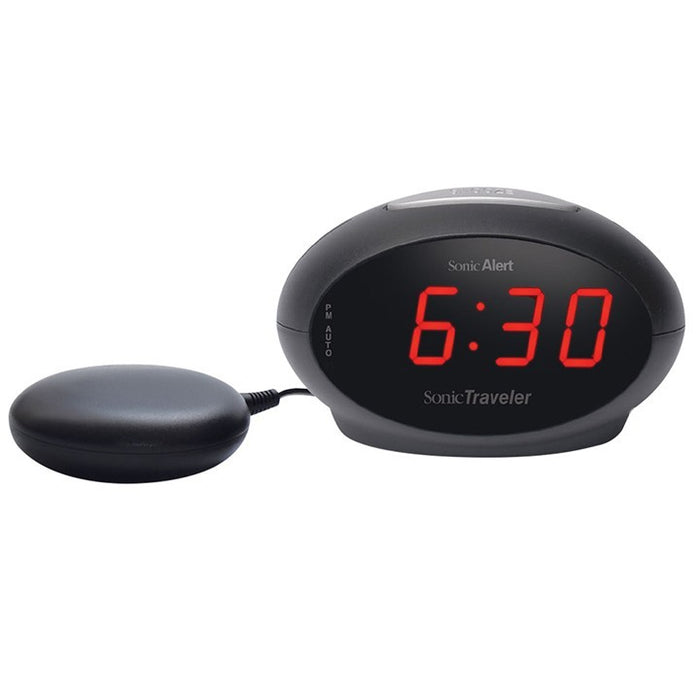 Sonic Alert SBT600SS - Travelling alarm clock bed shaker - ODYO Shop