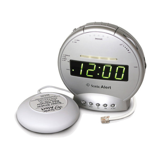 Sonic Alert SBT425SS Boom - Alarm clock with telephone signaler - ODYO Shop