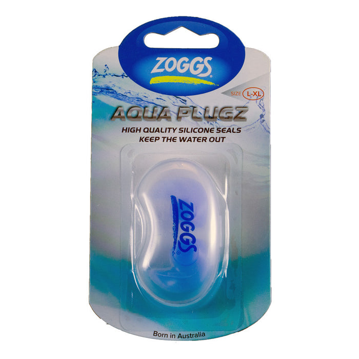 Zoggs Aqua Plugz - Molded silicone swimming ear plugs - ODYO Shop