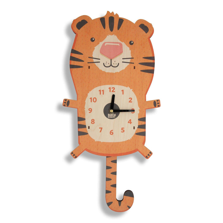 tiger wall clock for kids