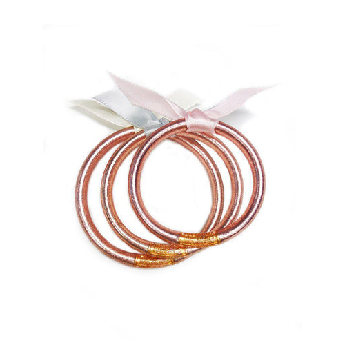 BuDhaGirl BABY ROSE GOLD All Weather Bangles