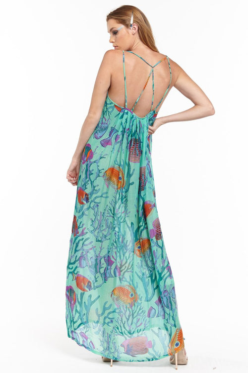 Aratta 'Tropical Illusions' Maxi Dress