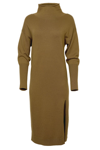 Beverly Mock Neck Long Sleeve Dress