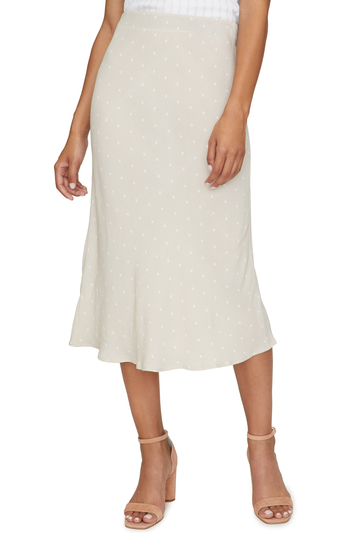 Dot Everyday midi Skirt