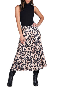 Oversize Spot Everyday Pleated Skirt