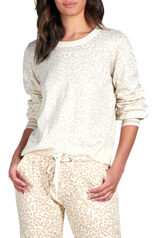 Barely Leopard Sweater