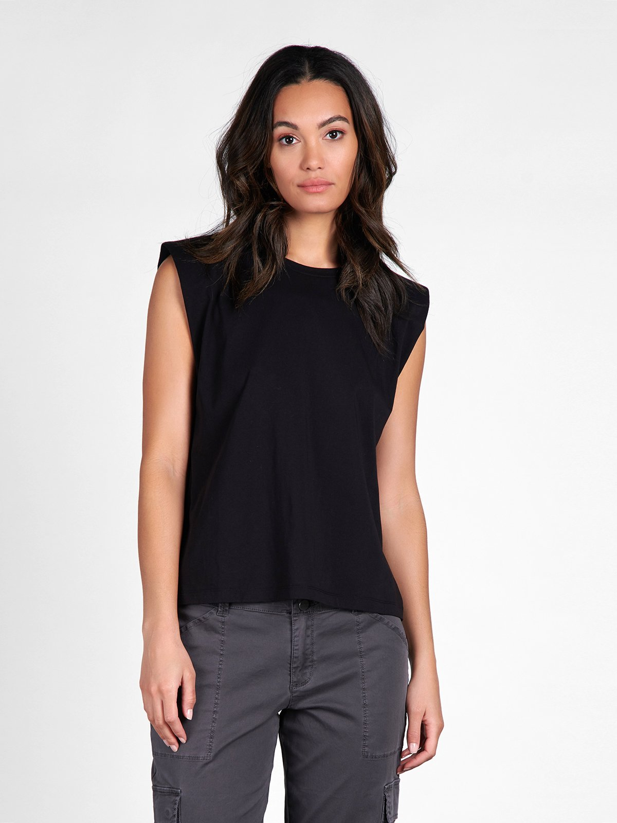 Shoulder Pad Tee