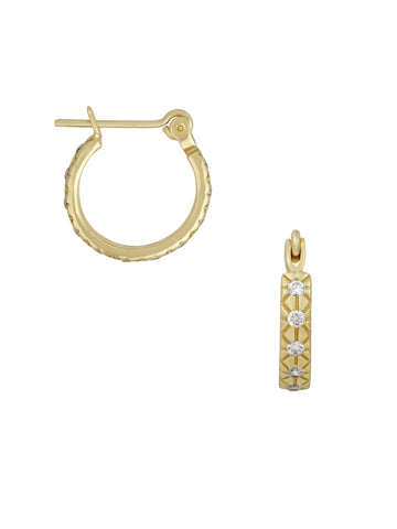 CZ Clear Lisbeth Earrings