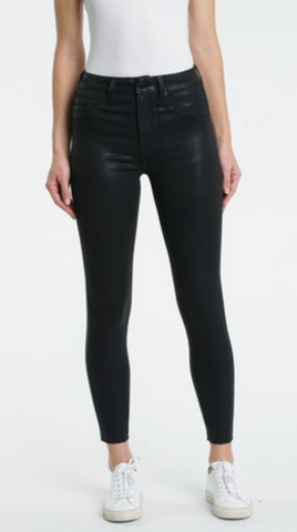 Coated Black Aline High Rise Skinny