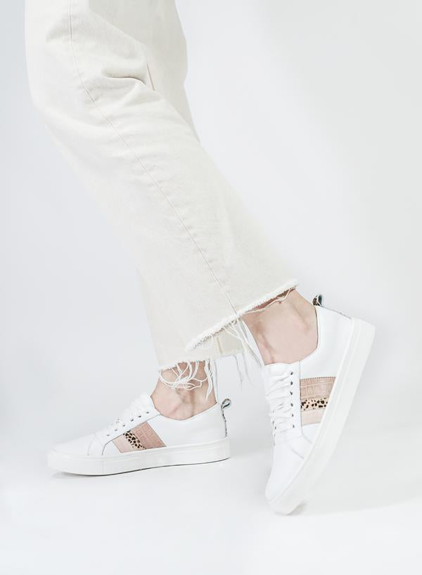 Rose Bristol Lace-Up Sneaker