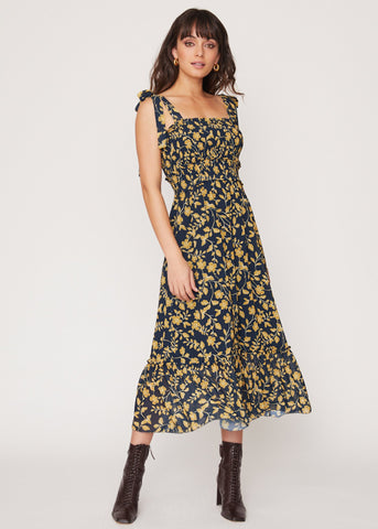 Tea In Versailles Maxi Dress