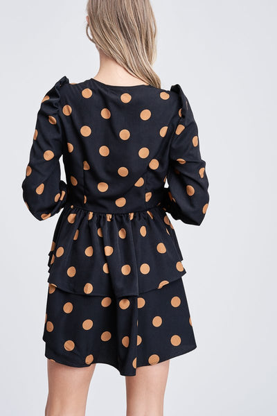 Dot Mini Dress