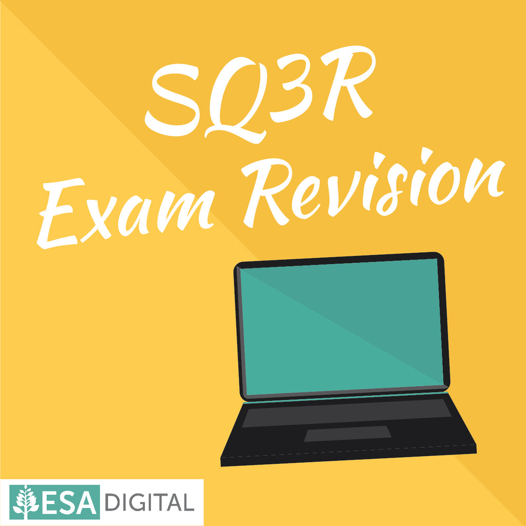 SQ3R study revision - getting your study sorted