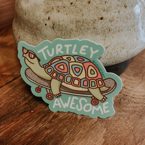 Turtley Awesome Sticker