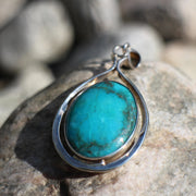 Asian Turquoise Pendant
