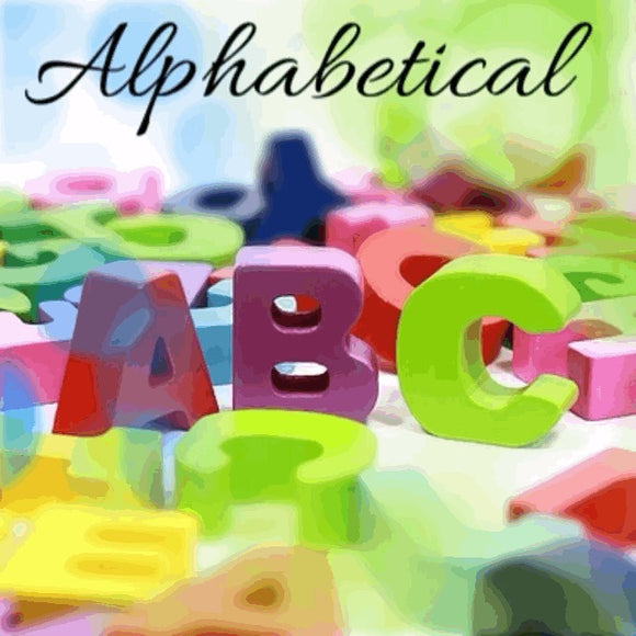 A to Z Keywebco Global Products Alphabetically