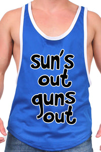 Men's Dri Fit Sun's Out Guns Out Tank Top