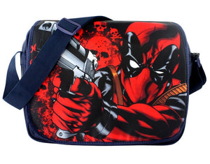 Anime Hero Deadpool Satchel Cartoon Single Shoulder Bag Gift Men Women Super Hero Canvas Messenger School Bags