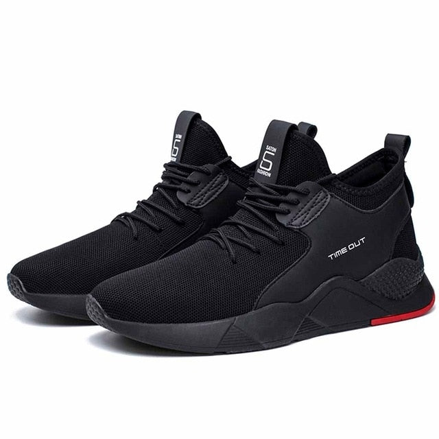 Men Casual Shoes Brand Men Shoes Men Sneakers Flats Mesh Slip On Loafers Fly Knit Breathable
