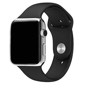 Silicone Replace Bracelet for Apple Watch Series 1 / 2 / 3 42mm