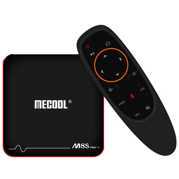 Mecool M8S PRO W 2.4G Voice Control TV Box Amlogic S905W / Android 7.1 / Stalker MAG625X / 4K / VP9 / H.265