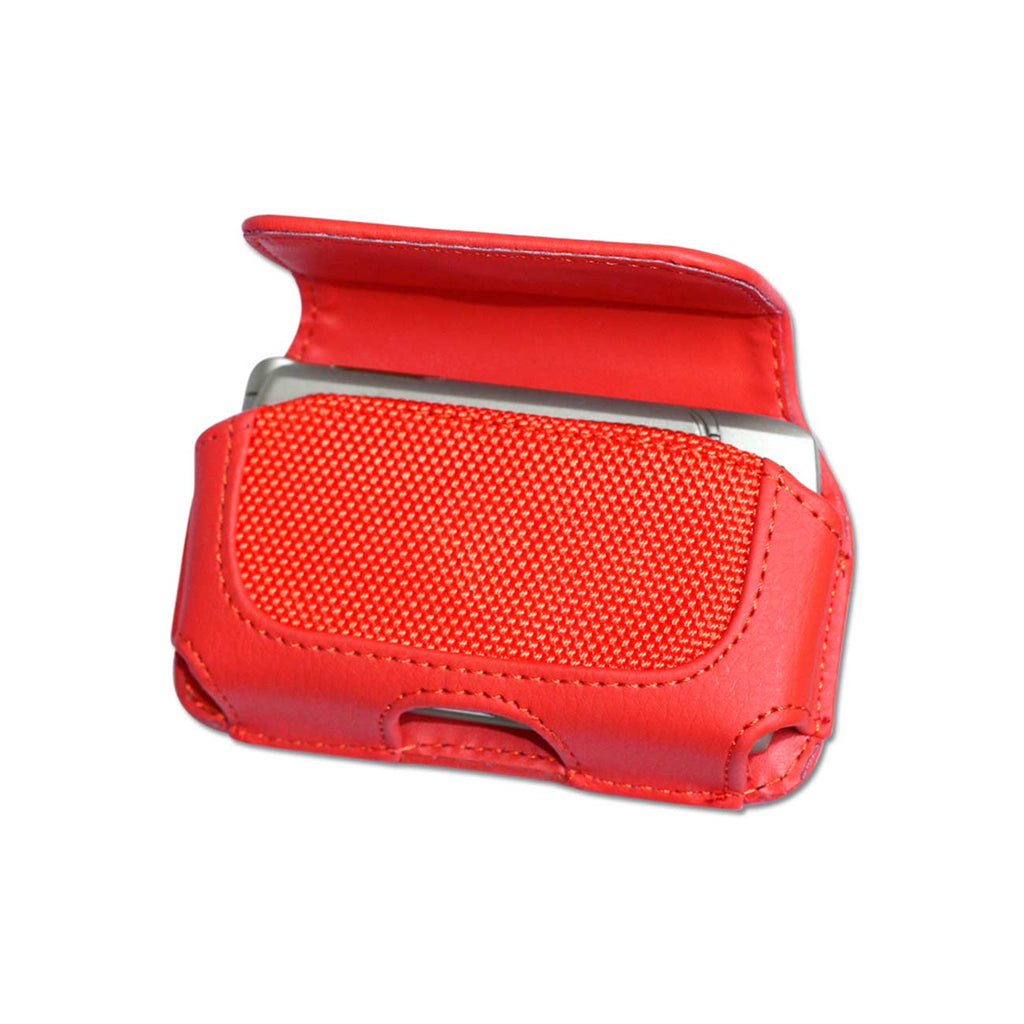 HORIZONTAL POUCH HP11A MOTOROLA V3 RED 4X0.5X2.1 INCHES - keywebcoshop