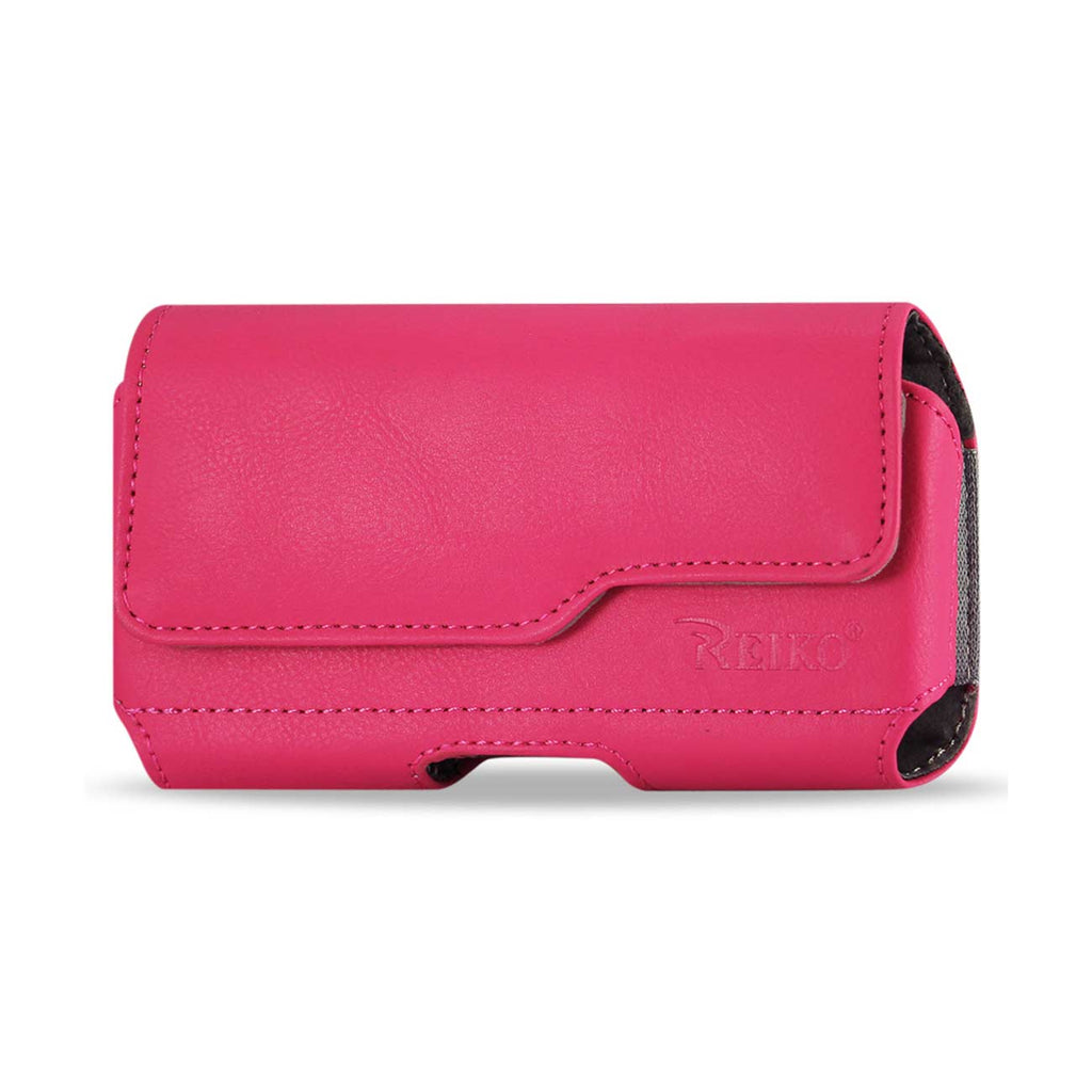 HORIZONTAL Z LID LEATHER POUCH SAMSUNG GALAXY NOTE 3 IN HOT PINK (6.5X3.62X0.71 INCHES PLUS) - keywebcoshop