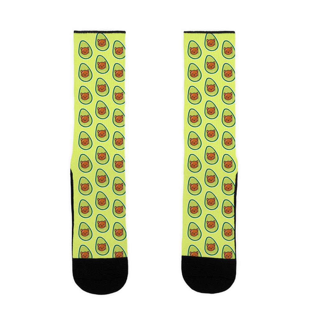 Avocato US Size 7-13 Socks by LookHUMAN