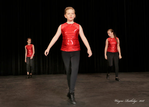Tap Recital Photography