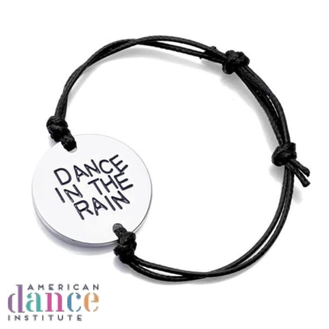 Dance In The Rain Hand Stamped Bracelet