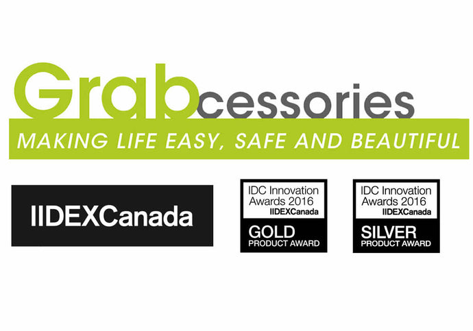 Grabcessories Takes Gold, Silver at + 2016 IIDEXCanada