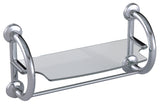 Grabcessories 3-in-1 Grab Bars w/ Towel Shelf & Hollow Wall Anchors