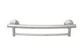 Grabcessories 2-in-1 Grab Bar Towel Bar w/Grips & Hollow Wall Anchors