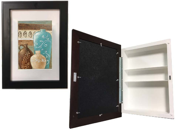 Recessed Medicine Cabinet Picture Frame Door