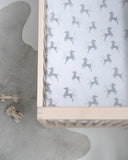 Unicorn Jersey Cot Sheet