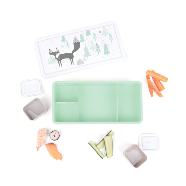 Wandering Fox Lunch Box