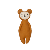 Soft Rattle Bear - Ochre