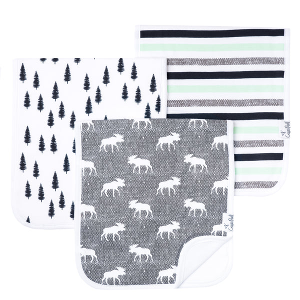 Premium Burp Cloths - Scout