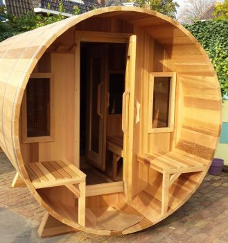 The Kimberly Sauna 7' dia x 7' long