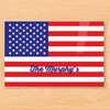 Flag - American - Personalized Kids Placemat