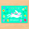 Easter Bunny Rabbit Personalized Kids Placemat
