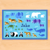Endangered Animals Personalized Kids Placemat