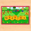 Fall Pumpkins Personalized Kids Placemat