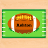 Football Personalized Kids Placemat