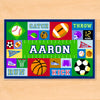 Game On Sports Personalized Placemat